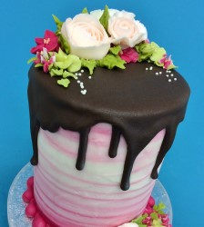Drip Effect Cake Decorating Class250 1