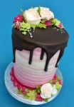 Drip Effect Cake Decorating Class 3