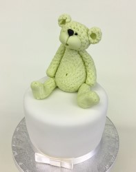 Sponge Cake Teddy bear