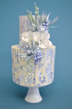 Winter Themed Wedding Cake Design